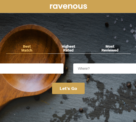 Ravenous screenshot